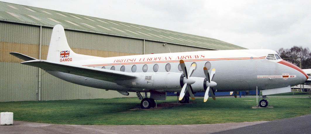 Viscount G-AMOG